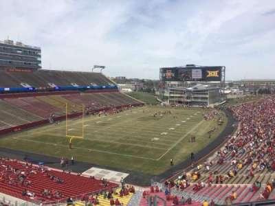 Jack Trice Stadium, vak: O, rij: 8, stoel: 16