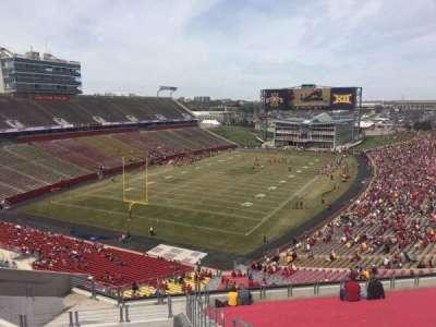 Jack Trice Stadium, vak: O, rij: 20, stoel: 30