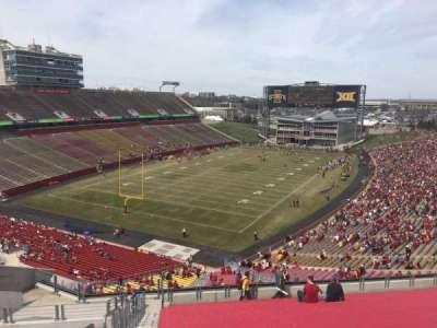 Jack Trice Stadium, vak: P, rij: 20, stoel: 1