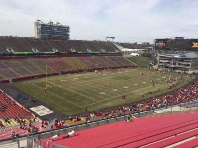Jack Trice Stadium, vak: Q, rij: 20, stoel: 30