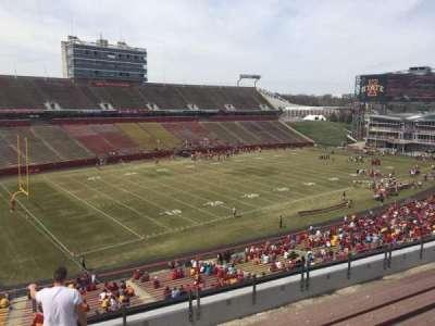 Jack Trice Stadium, vak: T, rij: 8, stoel: 1