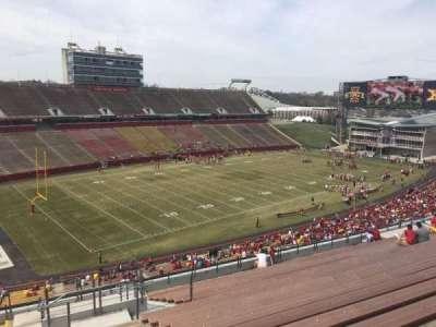 Jack Trice Stadium, vak: S, rij: 20, stoel: 12