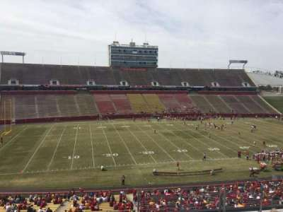 Jack Trice Stadium, vak: U, rij: 9, stoel: 37