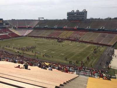 Jack Trice Stadium, vak: ZZ, rij: 28, stoel: 1