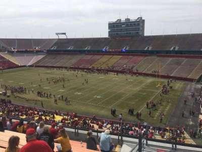 Jack Trice Stadium, vak: Z, rij: 11, stoel: 42