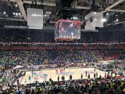 Stark Arena Belgrade, vak: 214, rij: W, stoel: 4