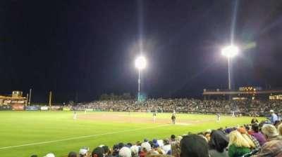 Scottsdale Stadium, vak: 125, rij: H, stoel: 18