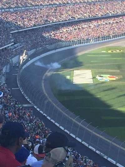 Daytona International Speedway, vak: 481, rij: 35, stoel: 15