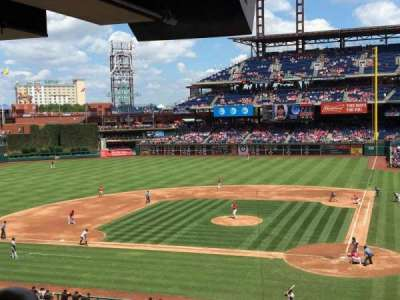 Citizens Bank Park, vak: Suite 26, rij: 1, stoel: 1
