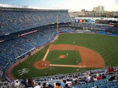Old Yankee Stadium, vak: Tier 11, rij: L, stoel: 3