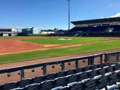Charlotte Sports Park, vak: 114, rij: 6, stoel: 9