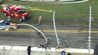Daytona International Speedway, vak: 366, rij: 1, stoel: 10