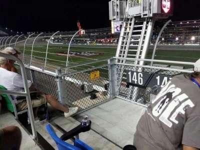 Daytona International Speedway, vak: 147, rij: 3, stoel: 22