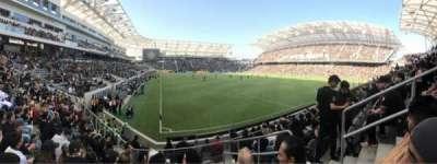 Banc of California Stadium, vak: 125, rij: J, stoel: 3