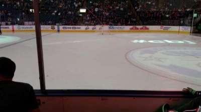 Nationwide Arena, vak: 102, rij: C, stoel: 13