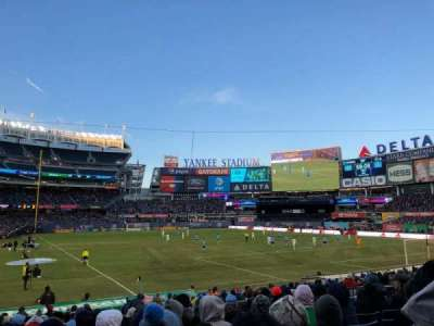 Yankee Stadium, vak: 116, rij: 11, stoel: 5