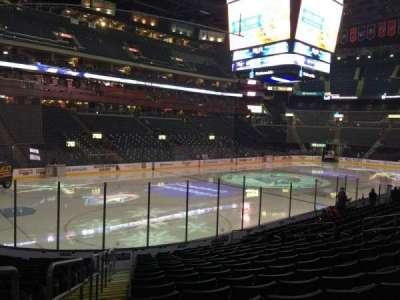 Nationwide Arena, vak: 106, rij: Q, stoel: 20