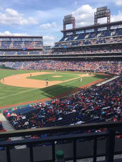 Citizens Bank Park, vak: Suite 9, rij: 1, stoel: 4