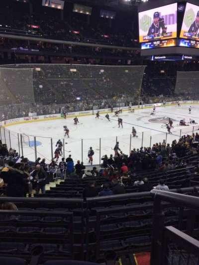 Nationwide Arena, vak: 117, rij: CC, stoel: 1