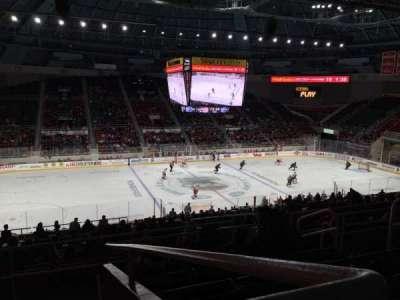 Bojangles' Coliseum, vak: 121, rij: Ff, stoel: 6