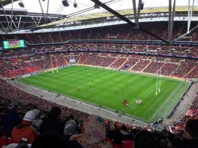 Wembley Stadium, vak: 521, rij: 33, stoel: 233