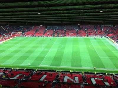 Old Trafford, vak: N4406, rij: 2, stoel: 63