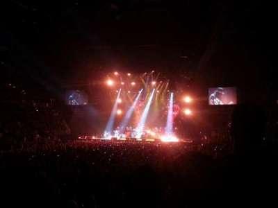T-Mobile Arena, vak: 13, rij: J, stoel: 7
