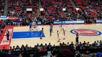Little Caesars Arena, vak: 111, rij: 15, stoel: 12