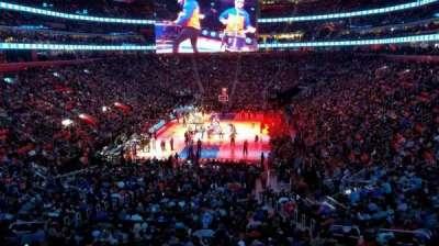Little Caesars Arena, vak: 115, rij: 26, stoel: 2