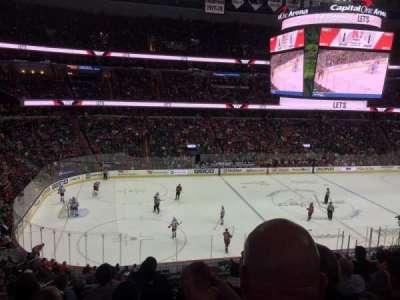 Capital One Arena, vak: 213, rij: G, stoel: 4