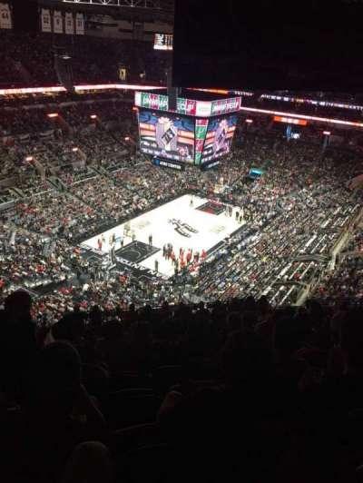 AT&T Center, vak: 213, rij: 16, stoel: 17