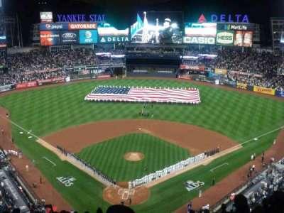Yankee Stadium, vak: 420B, rij: 13, stoel: 1