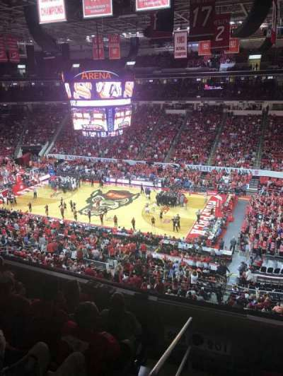 PNC Arena, vak: 201, rij: D, stoel: 22
