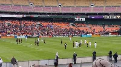 RFK Stadium, vak: 212, rij: 14, stoel: 7