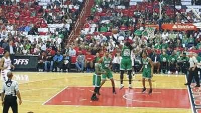 Capital One Arena, vak: 112, rij: k, stoel: 15