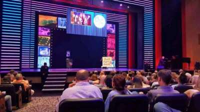 Penn & Teller Theater, vak: 2, rij: G, stoel: 17