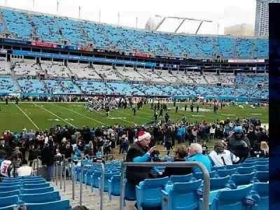 Bank of America Stadium, vak: 136, rij: 14, stoel: 1