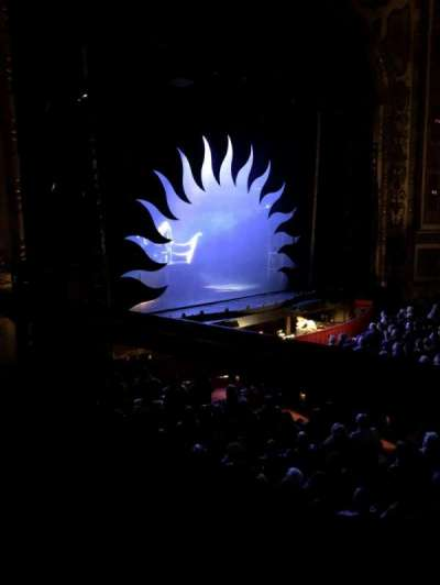 Cadillac Palace Theater, vak: Dress Circle Left, rij: CC, stoel: 1