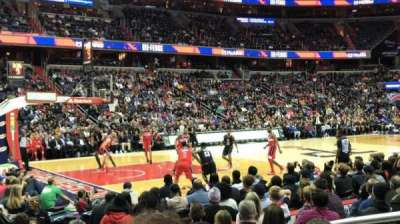 Capital One Arena, vak: 109, rij: G , stoel: 12