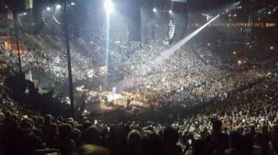 Nationwide Arena, vak: 118, rij: NN, stoel: 3