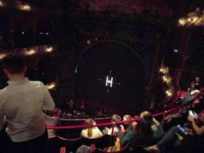 Palace Theatre (West End), vak: Upper Circle, rij: E, stoel: 13