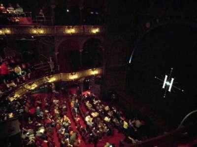 Palace Theatre (West End), vak: Upper Circle, rij: B, stoel: 4