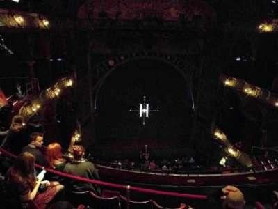 Palace Theatre (West End), vak: Upper Circle, rij: E, stoel: 25