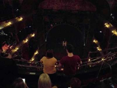 Palace Theatre (West End), vak: balcony, rij: d, stoel: 10