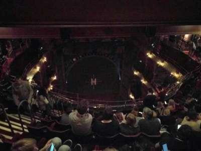 Palace Theatre (West End), vak: Balcony, rij: j, stoel: 19