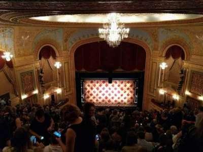 Forrest Theatre, vak: Rear Mezzanine C, rij: p, stoel: 7