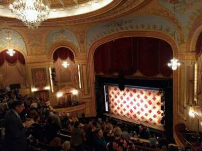 Forrest Theatre, vak: Rear Mezzanine E, rij: G, stoel: 4