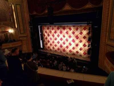Forrest Theatre, vak: Front Mezzanine D, rij: F, stoel: 16