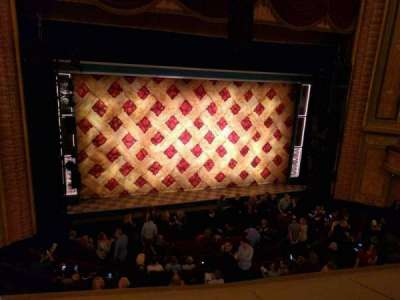 Forrest Theatre, vak: Front Mezzanine A, rij: b, stoel: 1