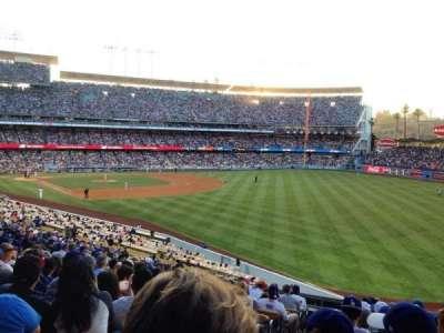 Dodger Stadium, vak: 162LG, rij: N, stoel: 2